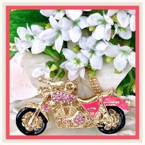 🌺🌴🌺 PINK CRYSTAL MOTORCYCLE 🌺🌴🌺